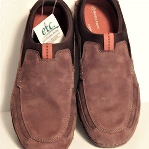 Men Rockport shoes casual brown 9.5 lightweight